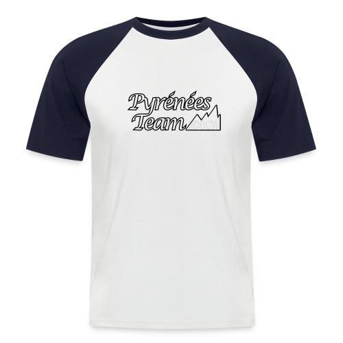 pteam 20 - T-shirt baseball manches courtes Homme