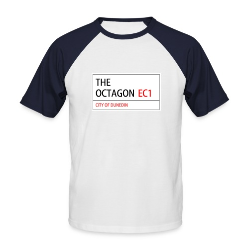 octagon - Men's Baseball T-Shirt