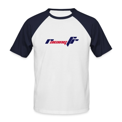logo rfr 2coul - T-shirt baseball manches courtes Homme