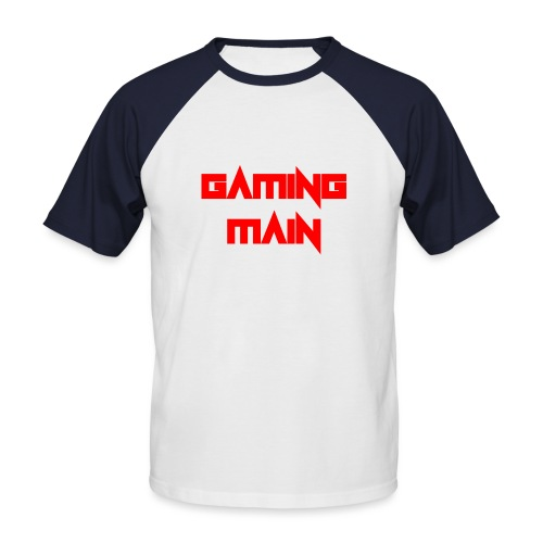 Gaming Main - Männer Baseball-T-Shirt