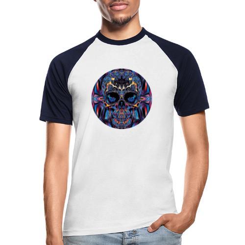 skullCOL - Männer Baseball-T-Shirt