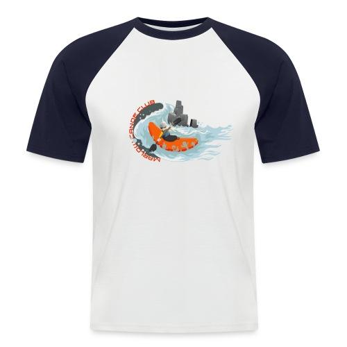 kayakillust2 - Men's Baseball T-Shirt