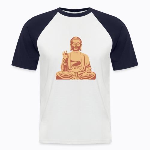 buddha om - Men's Baseball T-Shirt