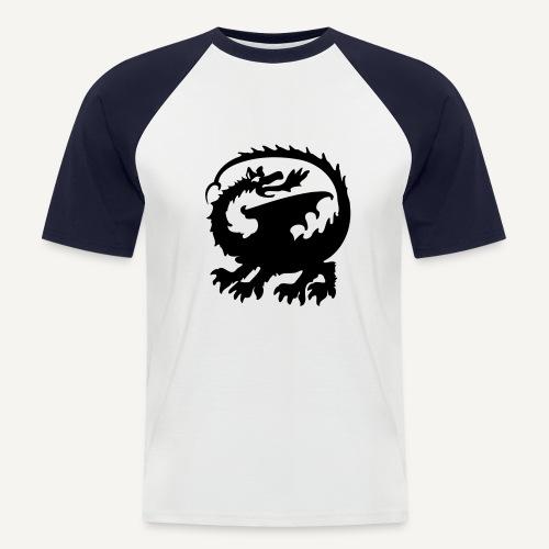smok3 - Koszulka bejsbolowa męska