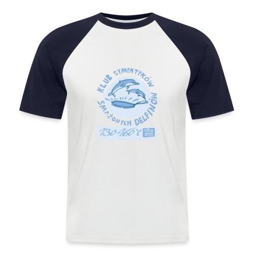 klub sympatykow delfinow - Koszulka bejsbolowa męska