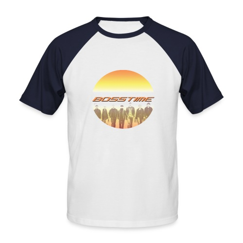 Walking Sun - Männer Baseball-T-Shirt
