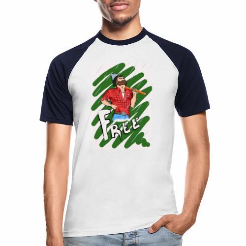 free - Männer Baseball-T-Shirt