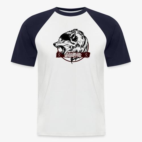 MARAUDER WOLF transparant - Men's Baseball T-Shirt