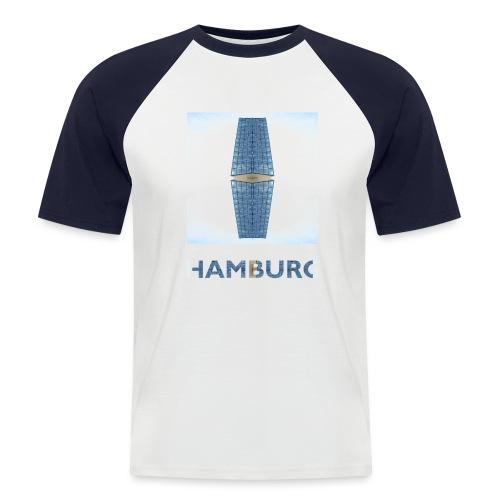 Hamburg #1 - Männer Baseball-T-Shirt