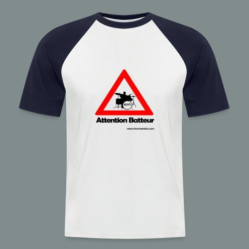 Attention batteur - T-shirt baseball manches courtes Homme