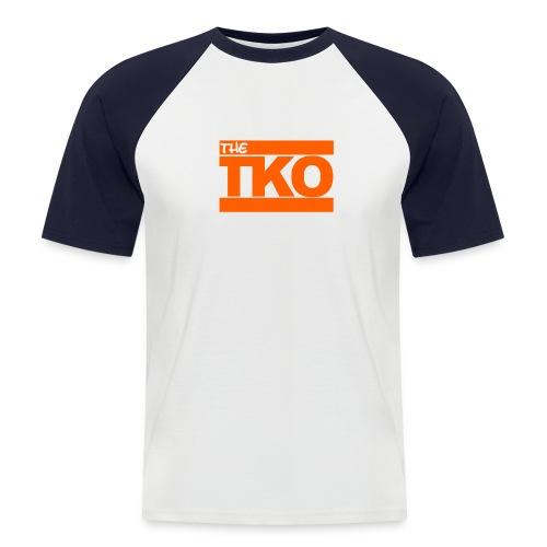 TKO Unisex Collage Style - Männer Baseball-T-Shirt