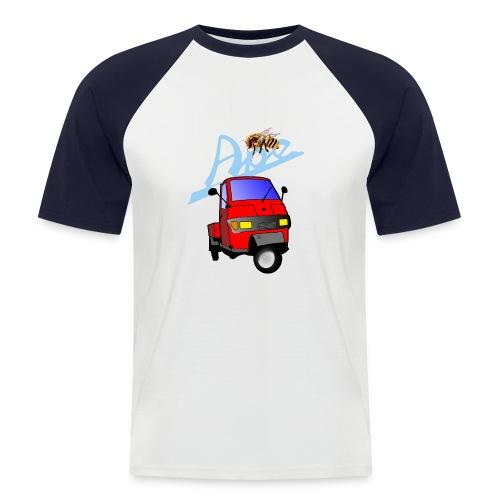 apepritsche rot - Männer Baseball-T-Shirt