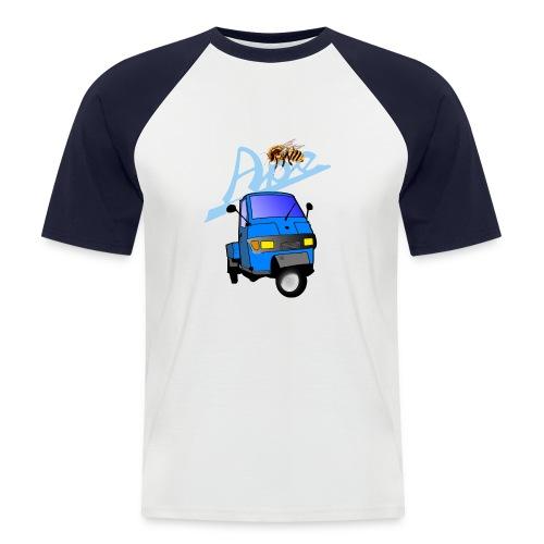 apepritsche blau - Männer Baseball-T-Shirt