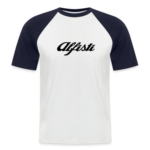 Alfisti (Big Logo) Raglan Rosso Longsleeve - Men's Baseball T-Shirt