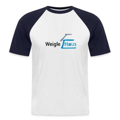 whlogo - Männer Baseball-T-Shirt