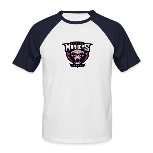 GermanMonkeys Logo - Männer Baseball-T-Shirt