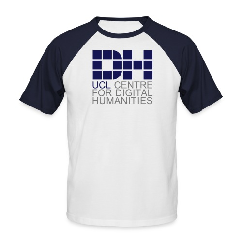DH UCL captioned remix - Men's Baseball T-Shirt