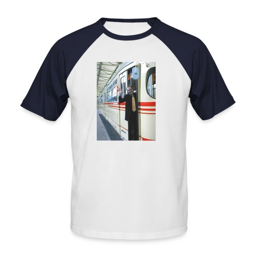 marony strassenbahn - Männer Baseball-T-Shirt