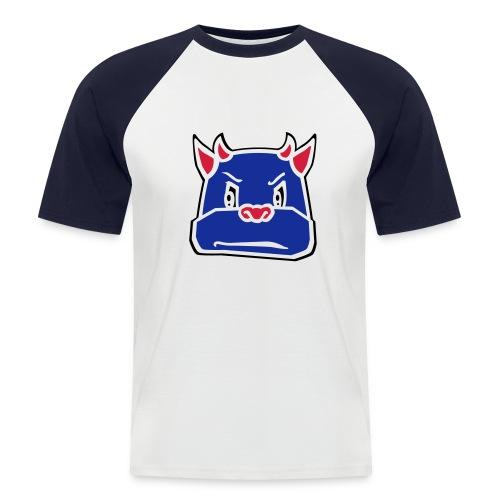 bull - Mannen baseballshirt korte mouw