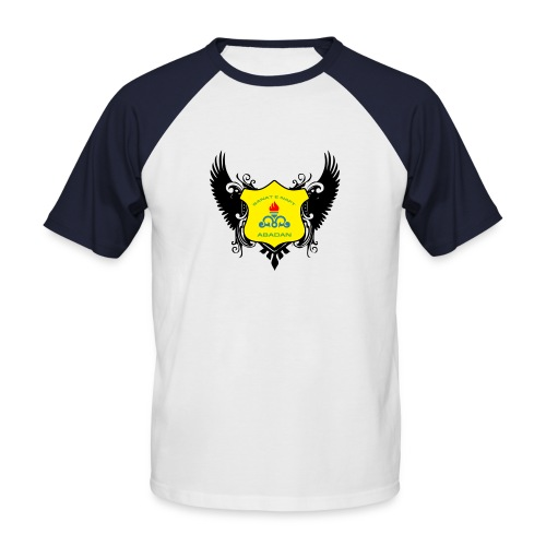 Sanat black bird - Men's Baseball T-Shirt