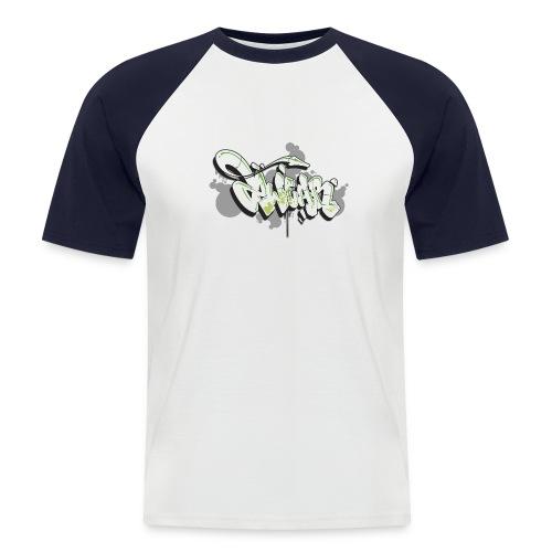 Mesk 2Wear graffiti style 7up ver02 - Kortærmet herre-baseballshirt