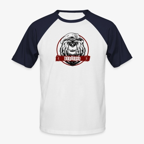 Berserkr Big Boss Bear - Men's Baseball T-Shirt