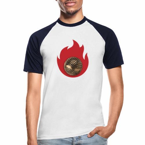 petanque fire - T-shirt baseball manches courtes Homme