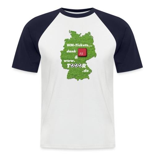 tooor5 - Männer Baseball-T-Shirt