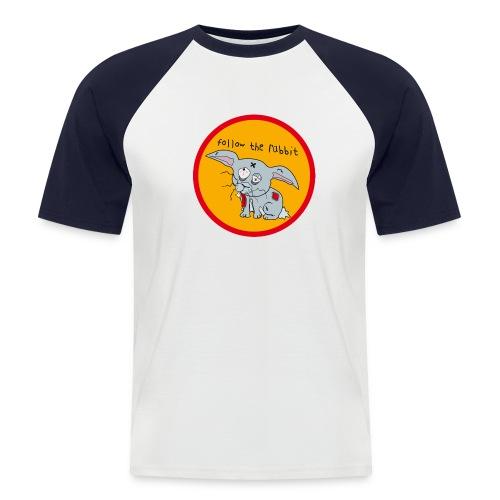 rabbit - Männer Baseball-T-Shirt