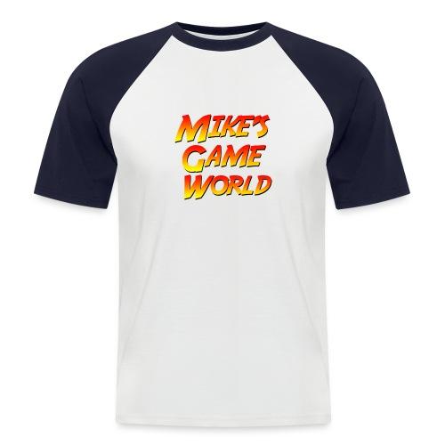 New Logo - Mannen baseballshirt korte mouw
