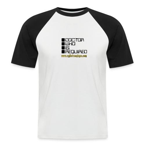 dwisrequired - Men's Baseball T-Shirt
