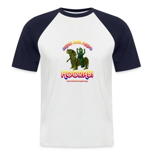 rfs hooray 2 - Men's Baseball T-Shirt