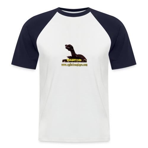 shirt pedantor - Men's Baseball T-Shirt