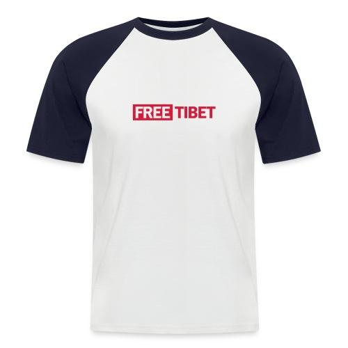 freetibet2 - Männer Baseball-T-Shirt