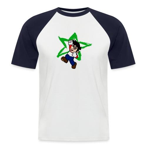 Robb mit Stern Design png - Männer Baseball-T-Shirt