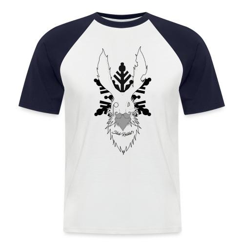 Slide Rabbit's Full Black - T-shirt baseball manches courtes Homme