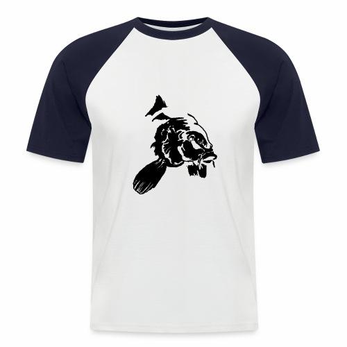 Karpfen_Vektor - Männer Baseball-T-Shirt