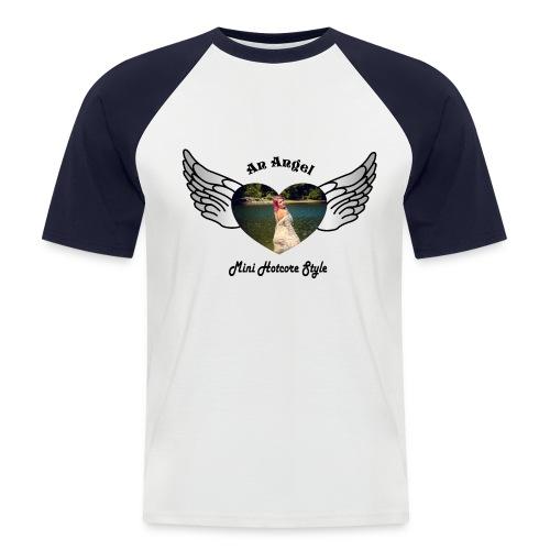 An Angel bunt - Männer Baseball-T-Shirt