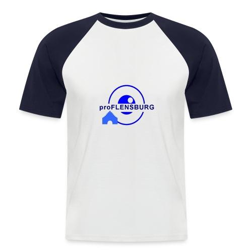 logo-gross-trans - Männer Baseball-T-Shirt