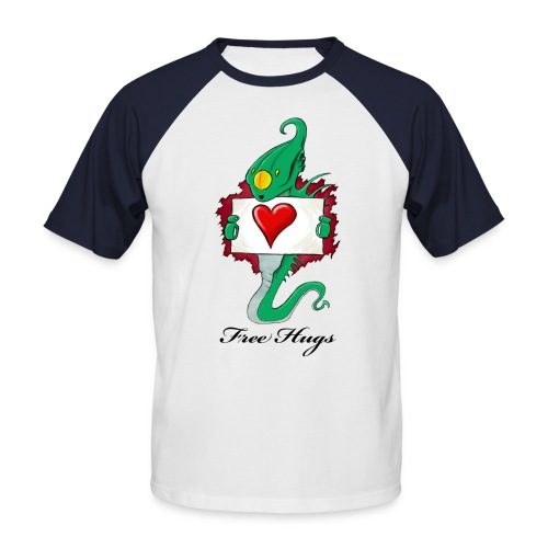 Alien Need Love - T-shirt baseball manches courtes Homme