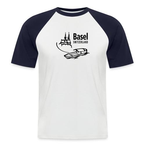 Basel Ferry - Männer Baseball-T-Shirt
