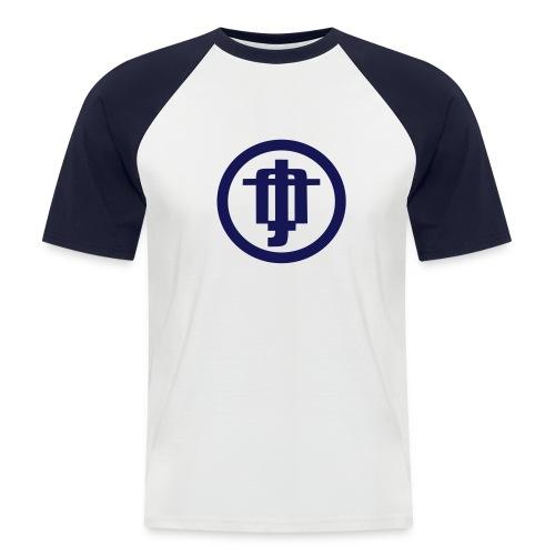 steiffflogoglatt - Männer Baseball-T-Shirt