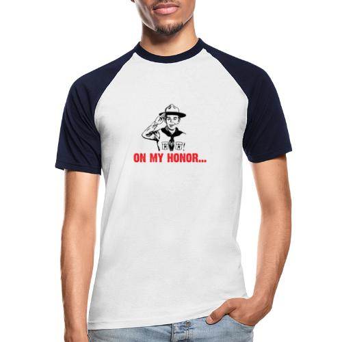 On my Honor... - T-shirt baseball manches courtes Homme