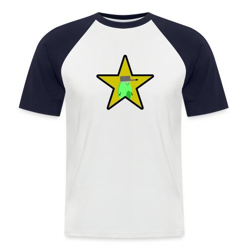 Derpo Gold Star png - Men's Baseball T-Shirt