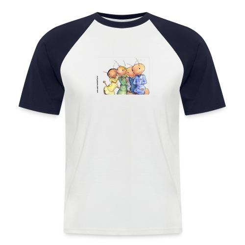 autogrammkarte 1 ohne logo gross - Männer Baseball-T-Shirt