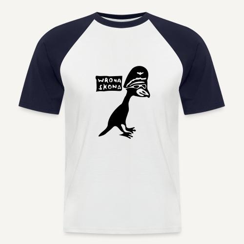 wronaskona - Koszulka bejsbolowa męska