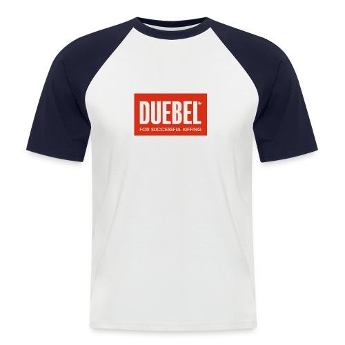 Duebel V2 - Männer Baseball-T-Shirt