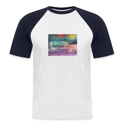 Einhornzauber - Männer Baseball-T-Shirt