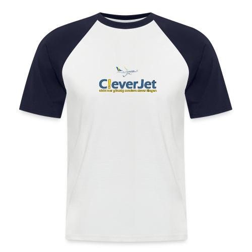 cj tassenlogo01 - Männer Baseball-T-Shirt