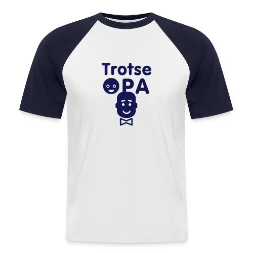 opa - Mannen baseballshirt korte mouw